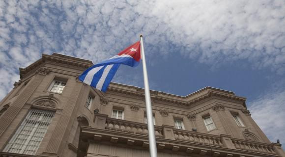 Nach 54 Jahren weht die kubanische Fahne wieder in Washington