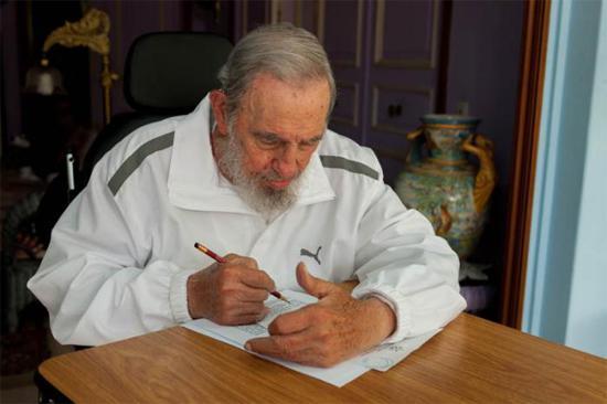 Gab seine Stimme zu Hause ab: Fidel Castro