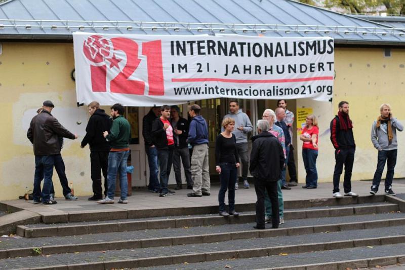 Am Freitag begann die Konferenz im Statthaus Böcklerpark in Kreuzberg