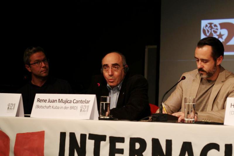 Botschafter Mujica Cantelar berichtete über den hohen Stellenwert des praktischen Internationalismus in der kubanischen Politik