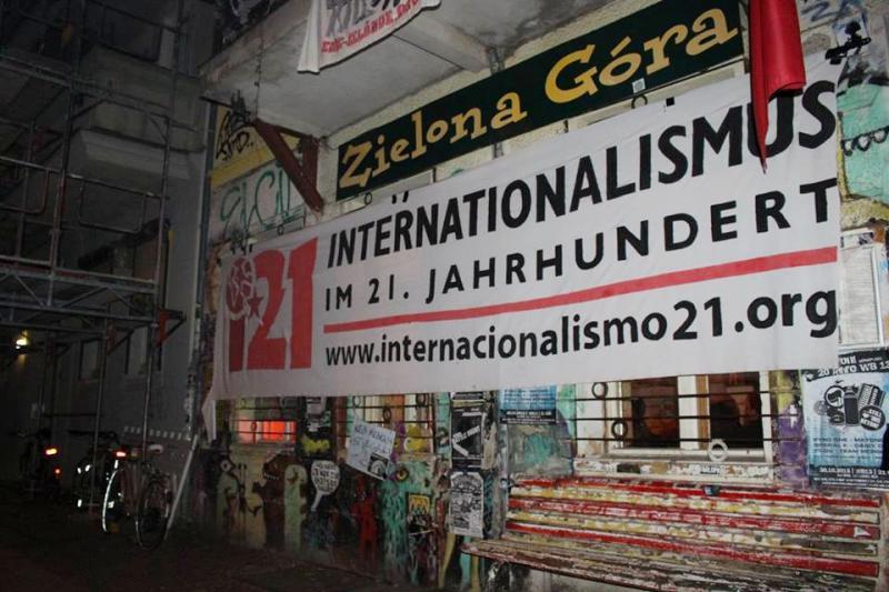 """Im Treff der linken Szene """"Zielona Gora"""" fand die Diskussion über die europäische Solidarität mit El Salvador und Nicaragua in den 1980er Jahren statt"""