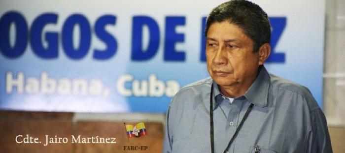 Jairo Martínez nahm als Delegierter der Farc an den Friedensgesprächen in Havanna teil