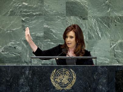 Argentiniens Präsidentin Cristina Fernández