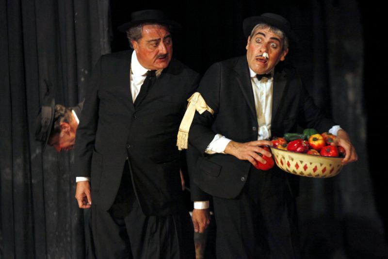 """Zum Abschluss des Festivals wurde das argentinische Stück  """"Terrenal"""" gespielt"""
