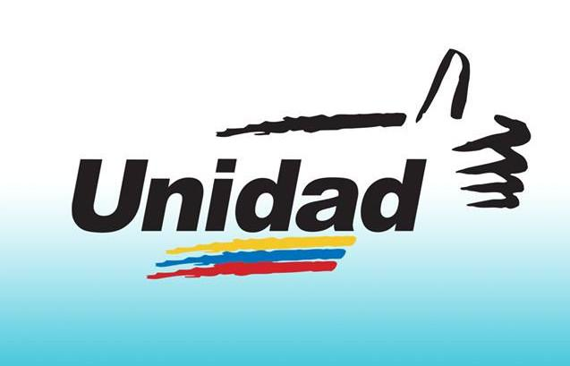 Logo des Oppositionsbündnisses Tisch der demokratischen Einheit (MUD)