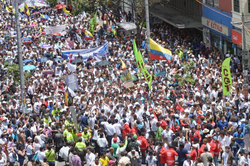 """""""Marsch für das Leben"""" in Bogotá"""