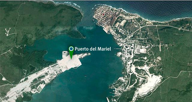 Die Sonderentwicklungszone und der Hafen von Mariel
