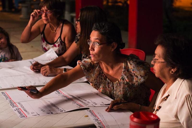 Die Kommunalen Räte in Venezuela werden mehrheitlich von Frauen organisiert