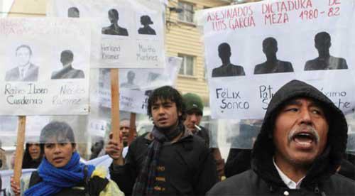 Angehörige von Opfern der Diktatur setzen sich für die Schaffung einer Wahrheitskommission ein
