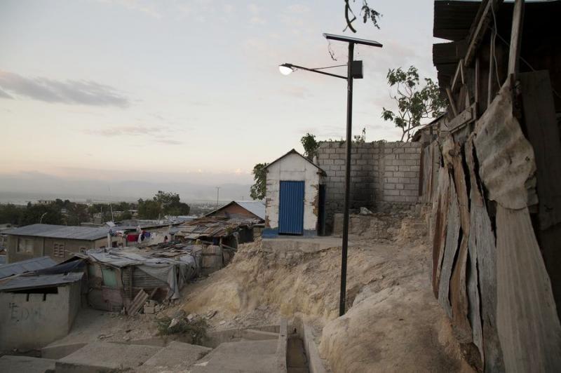 Das Armenviertel Campeche sieht heute noch so aus wie kurz nach dem Erdbeben 2010