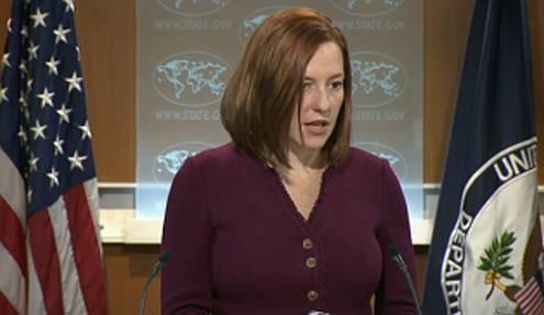 Sprecherin des US-Außenministeriums, Jen Psaki