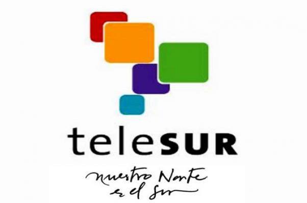 """Das Motto von Telesur war von Beginn an: """"Nuestro Norte es el Sur"""" (Unser Norden ist der Süden)"""