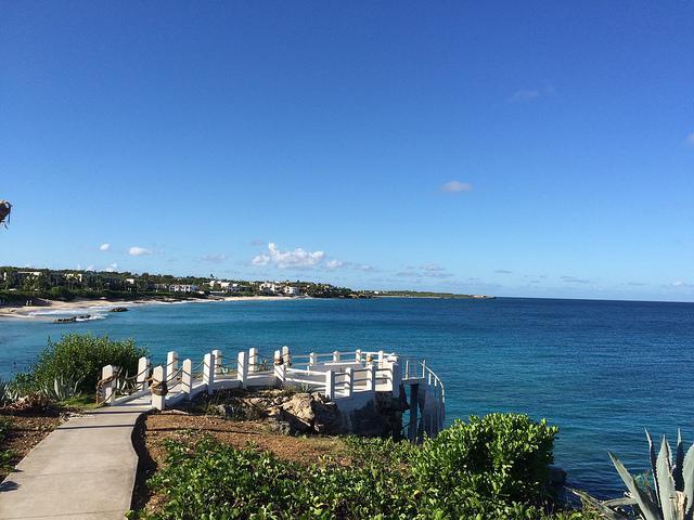 Bucht vor Anguilla