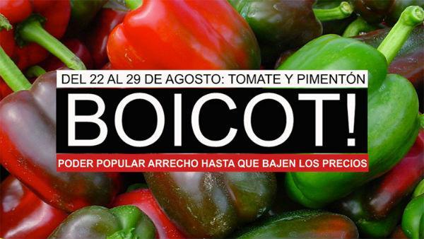 In dieser Woche sollen überteuerte Tomaten und Paprika boykottiert werden