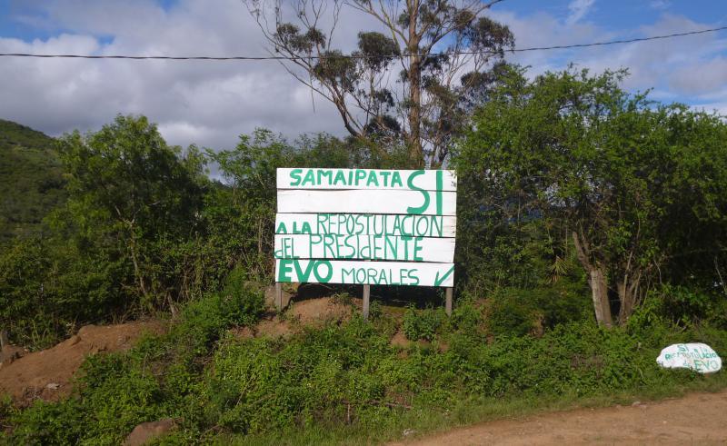 Samaipata im Süden des Amboró-Nationalparks
