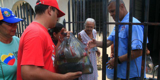 Die lokalen Komitees versorgen die Bevölkerung direkt mit günstigen Lebensmitteln
