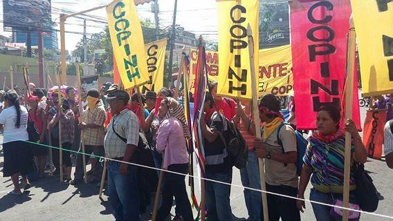 """Luis Diaz de Terán begleitete in den letzten Jahren den """"Rat von indigenen und Volksorganisationen"""" (COPINH)"""