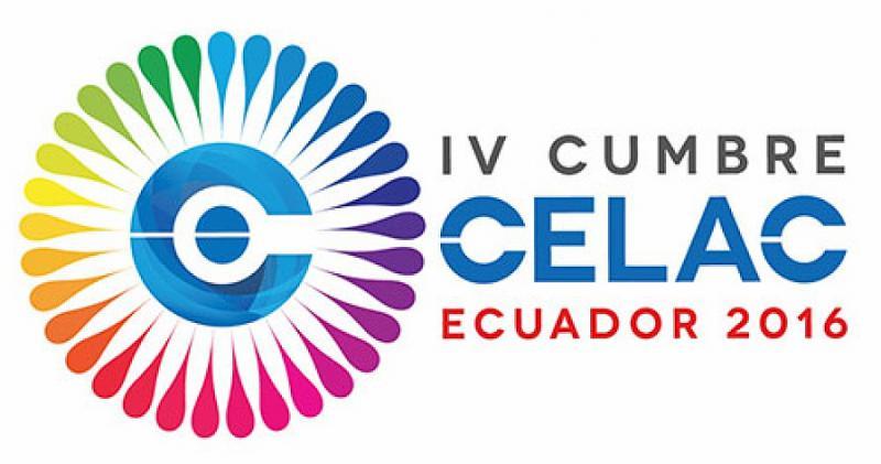 Logo des vierten Celac-Gipfels, der in Ecuador stattfand