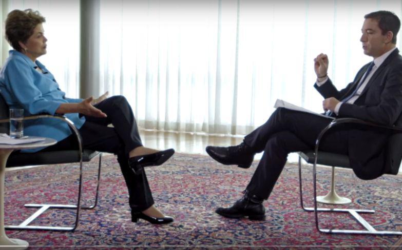 Dilma Rousseff im Interview mit Glenn Greenwald