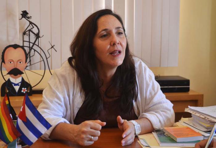 Die Direktorin des Nationalen Zentrums für Sexualerziehung von Kuba, Mariela Castro, nahm an dem UN-Treffen teil