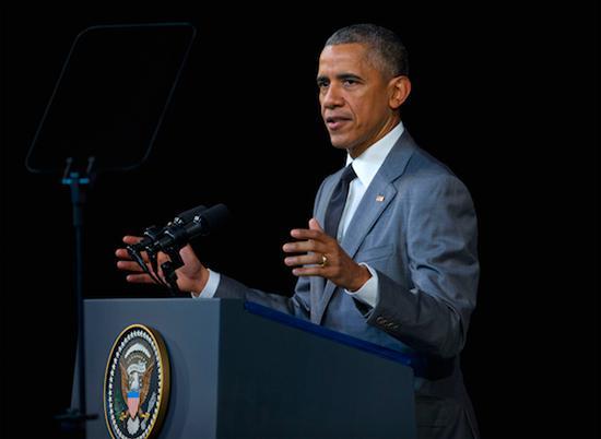 Obama bei seiner Rede im Großen Theater von Havanna