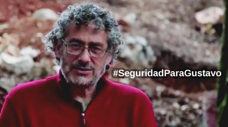 Sicherheit für Gustavo Castro