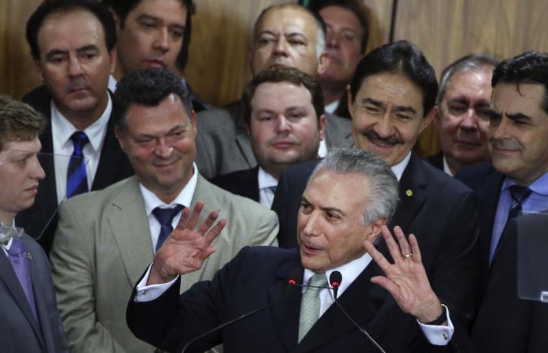 Will Privatisierungen und Haushaltskürzungen im großen Stil: De-facto-Präsident Temer