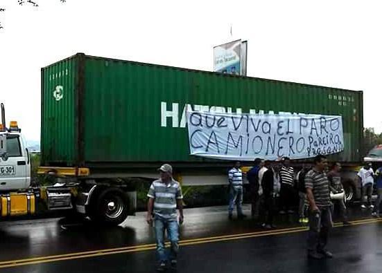 Rund 35.000 Transportarbeiter sind seit Dienstag ebenfalls im Streik
