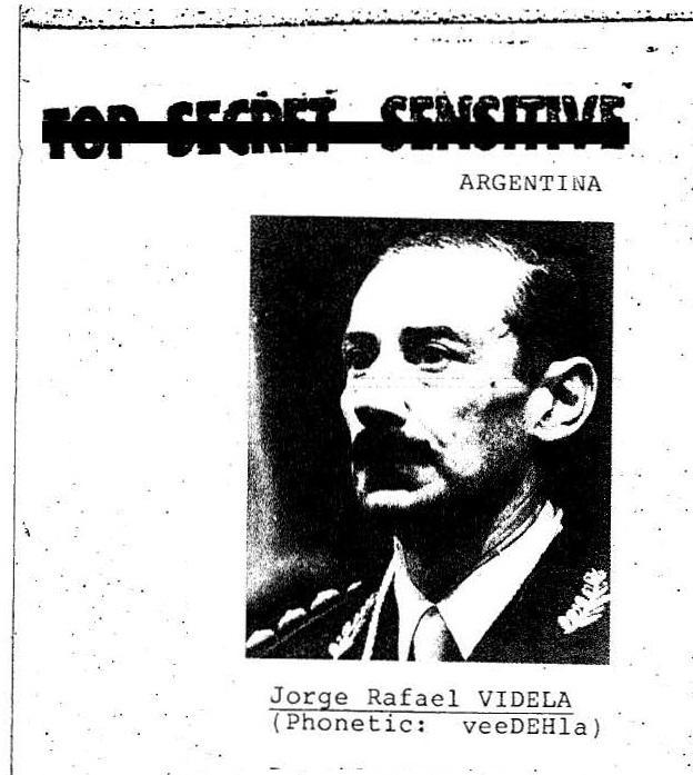 Argentiniens Militärdiktator Jorge Videla (1976-1981): Unter seiner Herrschaft wurde gefoltert und gemordet