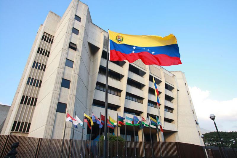 Sitz des Obersten Gerichtes von Venezuela in Caracas, Venezuela