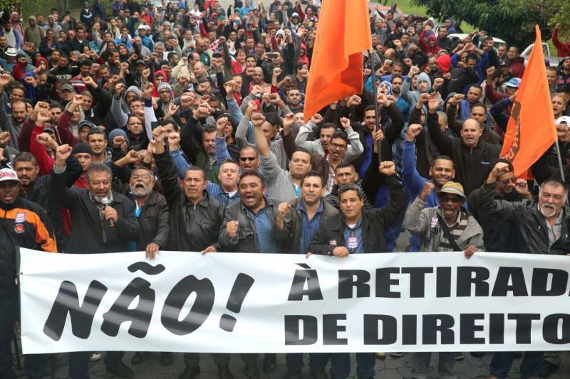 An dem landesweiten Streik-und Aktionstag nahmen 40 Millionen Menschen teil