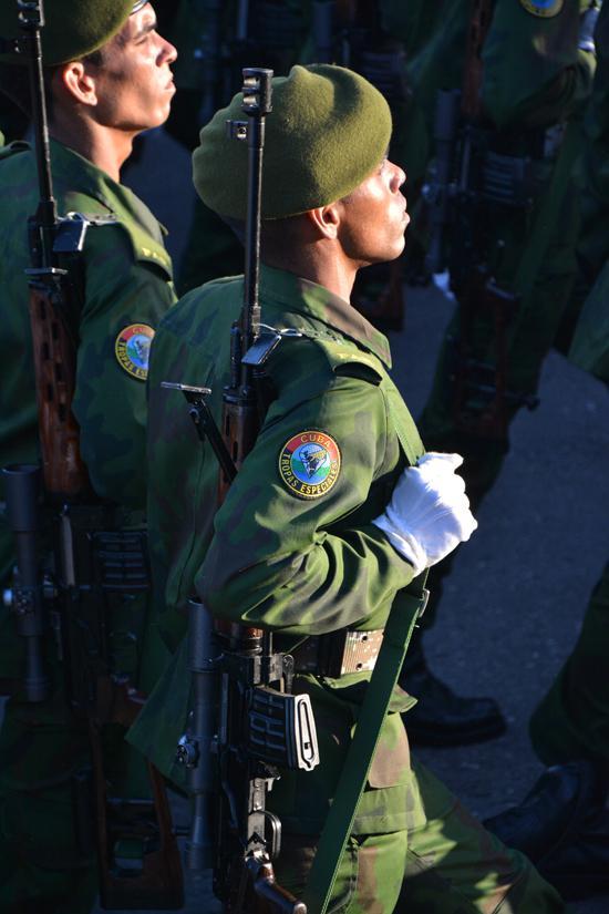 Kubanische Spezialkräfte.