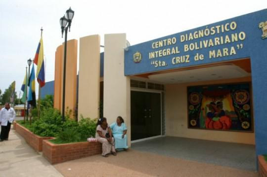 Eines von vielen Integralen Diagnostischen Gesundheitszentren (CDI) in Venezuela