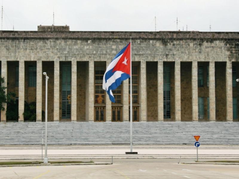 Gebäude des Staatsrates von Kuba in Havanna