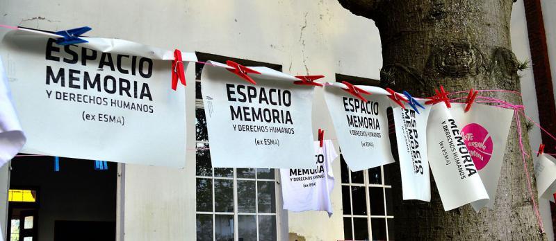 Auf dem ehemaligen Esma-Gelände in Argentinien befindet sich inzwischen eine Gedenkstätte