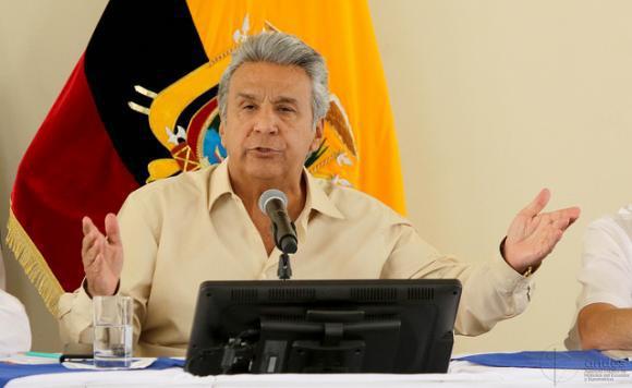 Der Präsiodent von Ecuador, Lenín Moreno, will am 2. Oktober die Fragen für die Volksabstimmung bekannt geben