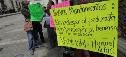 Silvestre Hernández wurde anscheinend lange von den Kirchenoberen in Oaxaca gedeckt