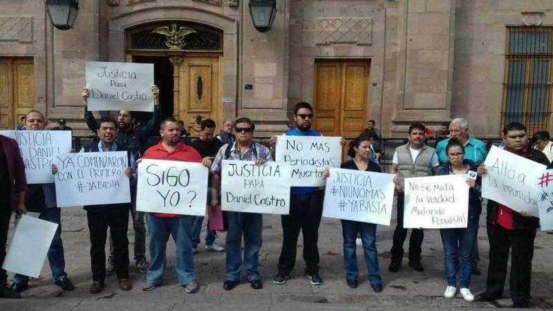 Proteste nach dem Verschwinden von Esqueda Castro