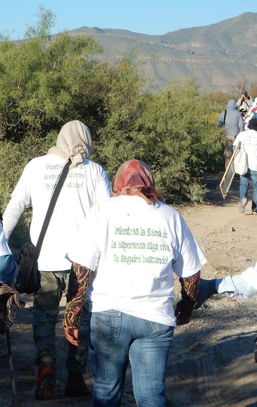 """Mütter auf der Suche nach ihren Kindern: """"Solange die Flamme der Hoffnung nicht erlischt, werde ich dich weiter suchen"""""""