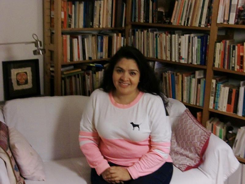 Nestora Salgado im November 2016 in Hamburg