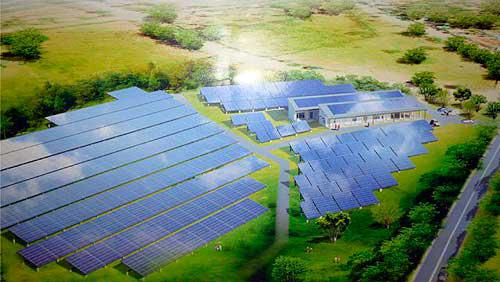 Solarpaneele in Nicaragua