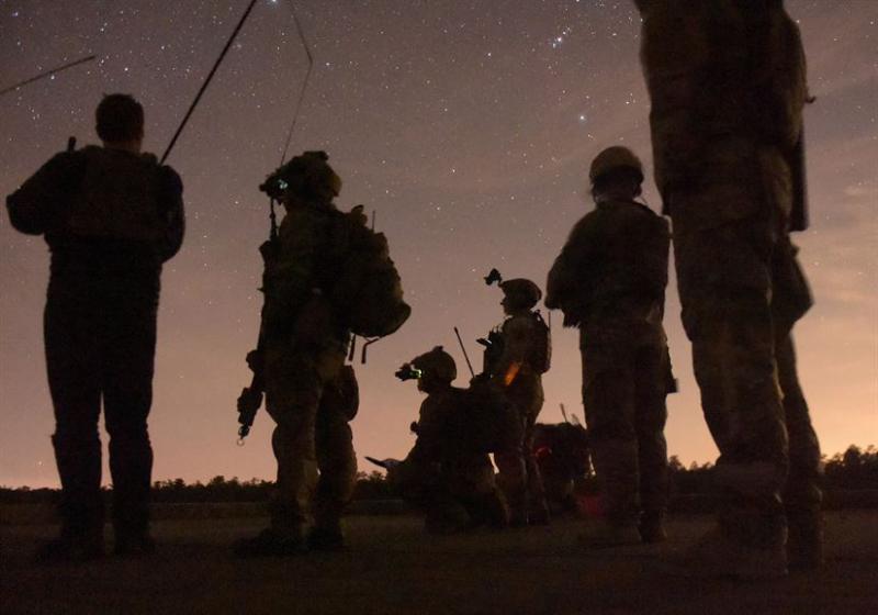 Einsatzkräfte der US-Special Operations Command (Socom) bei einem Manöver