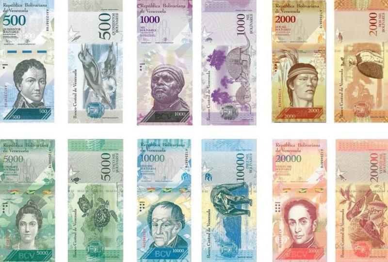 Neue Geldscheine in Venezuela. Warum druckt die Zentralbank immer mehr Zahlungsmittel für eine Wirtschaft, die immer weniger produziert?