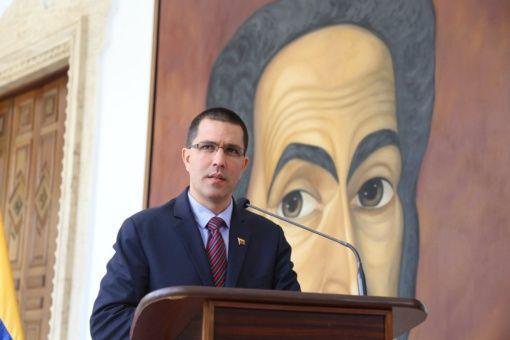Venezuelas Außenminister Jorge Arreaza