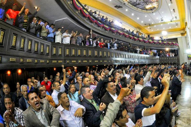 Sitzung des Verfassungskonvents in Venezuela am 11. August