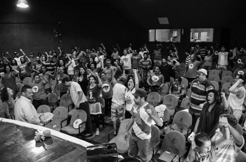 Die Nachricht über die Festsetzung von Chafik in Brasilien platzte direkt in das Jahrestreffen der Landlosenbewegung MST