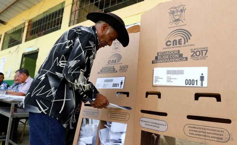 Bei den Präsidentschaftswahlen in Ecuador am 19. Februar verpasste Alianza País-Kandidat Moreno mit 39,36 Prozent knapp den Wahlsieg in der ersten Runde. Gegenkandidat Lasso kam auf 28, 09 Prozent