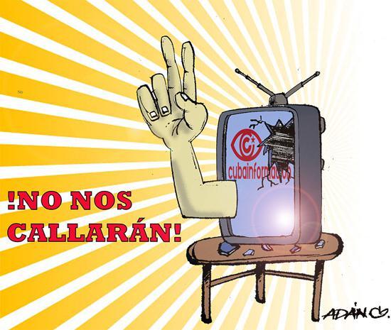 """""""Sie werden uns nicht zum Schweigen bringen"""": Solidarische Gegenwehr gegen die Attacke auf Cubainformación"""