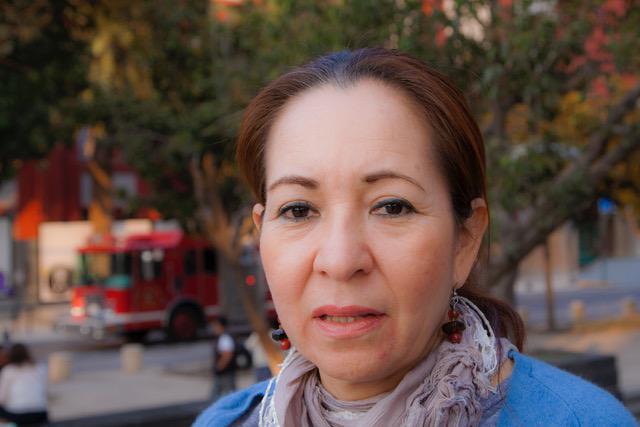 Ana Enamorado aus Honduras lebt jetzt in Mexiko, wo ihr Sohn verschwand
