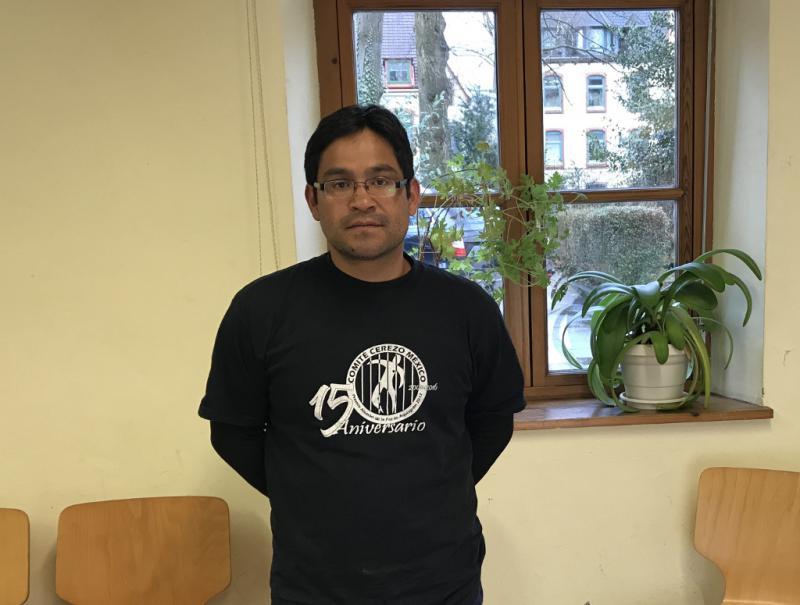 Antonio Cerezo bei den Romero-Tagen im April in Hamburg